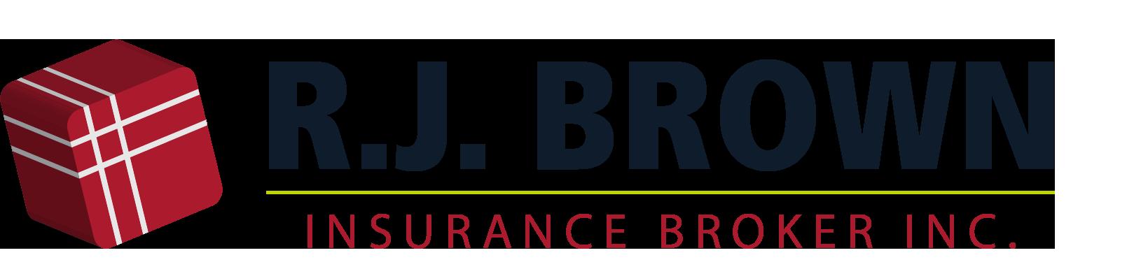 R.J Brown Insurance Logo